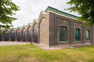 Graansilo en Oude Remise Bad Nieuweschans