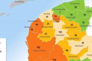 Friese gemeenten verder achterop met huisvesting vluchtelingen